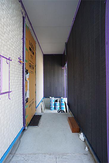 岡崎市 設計事務所:木造 ポーチ
