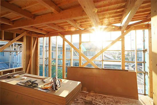岡崎市:木造 上棟
