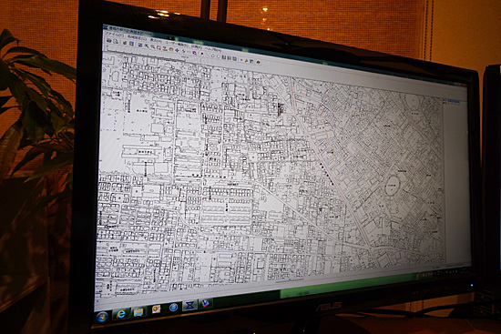 豊橋市の白図|都市計画基本図