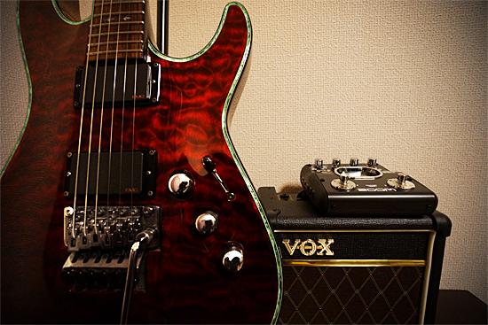 エレキギター|C1-FR Hellraiser|SCHECTER|VOX|Zoom|G2Nu