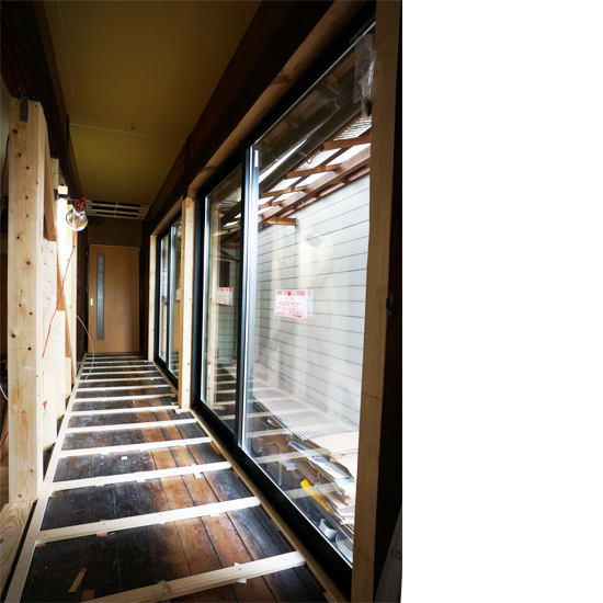 中津川市|リフォーム|廊下
