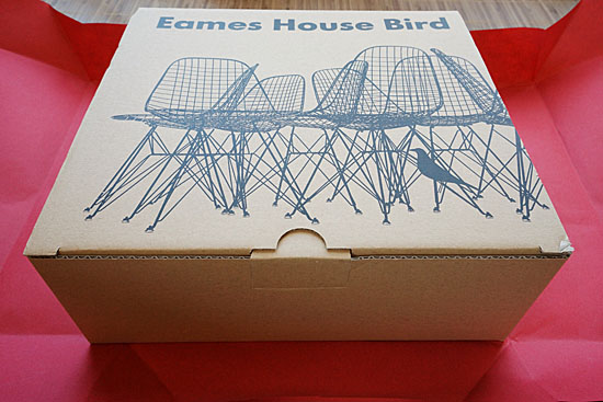 Eames House Bird パッケージ
