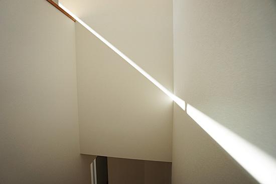 スリット状の光