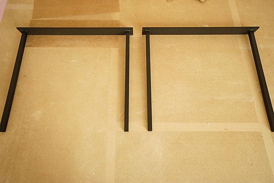 ダイニングテーブル|脚|スチール