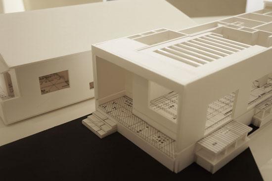 岡崎市 建築模型