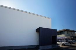 岡崎市設計事務所の住宅外観写真|シンプル