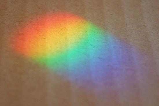 小さな虹の画像