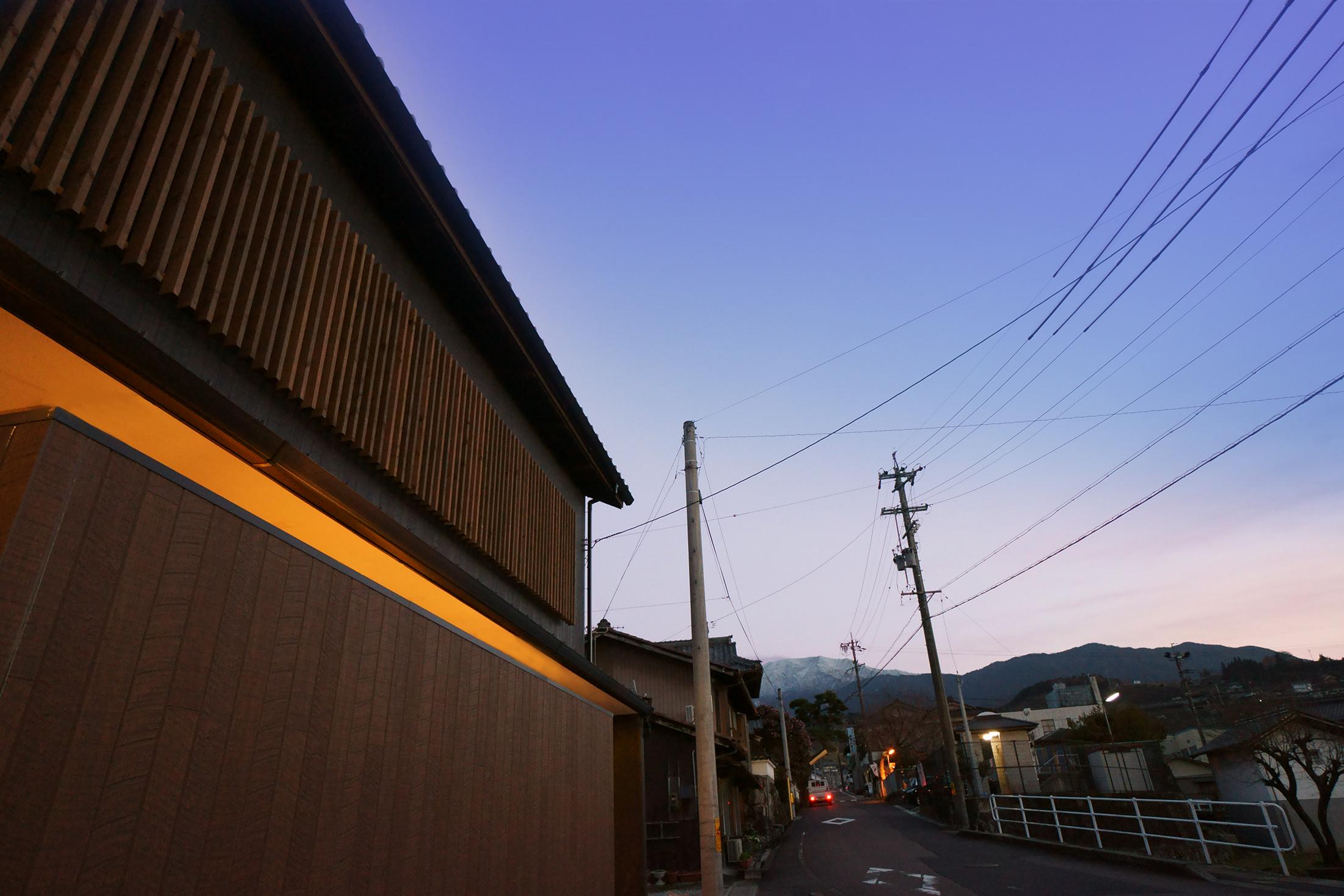 岡崎市の設計事務所 和モダンの外観