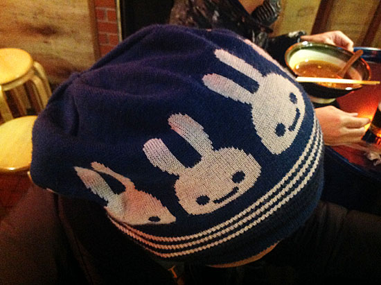 cuneのニット帽