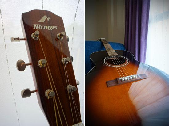 Morris社のアコースティックギター