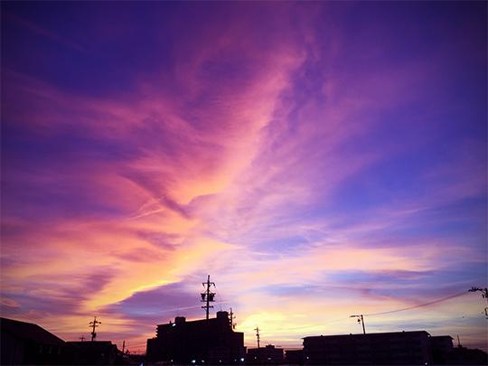 iPhone6で撮った空の写真