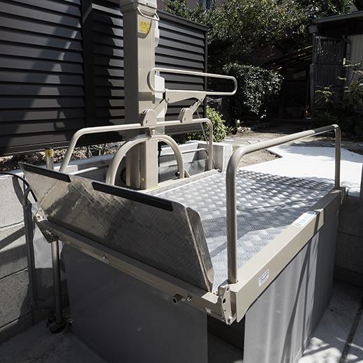住宅 車いす用昇降機の画像2