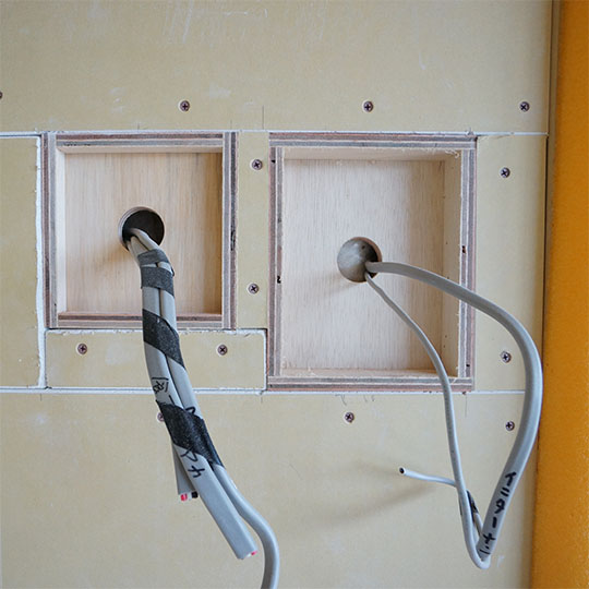 インターホン用のニッチ