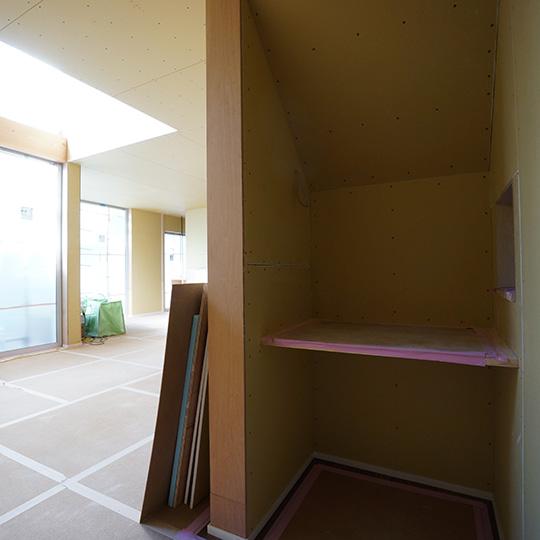 階段下書斎の写真