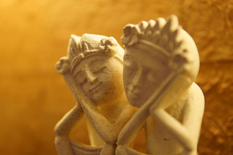 バリニーズカップルの写真