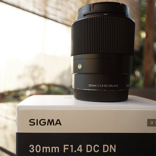 sigma-30mm-f1-4-dcdnの写真