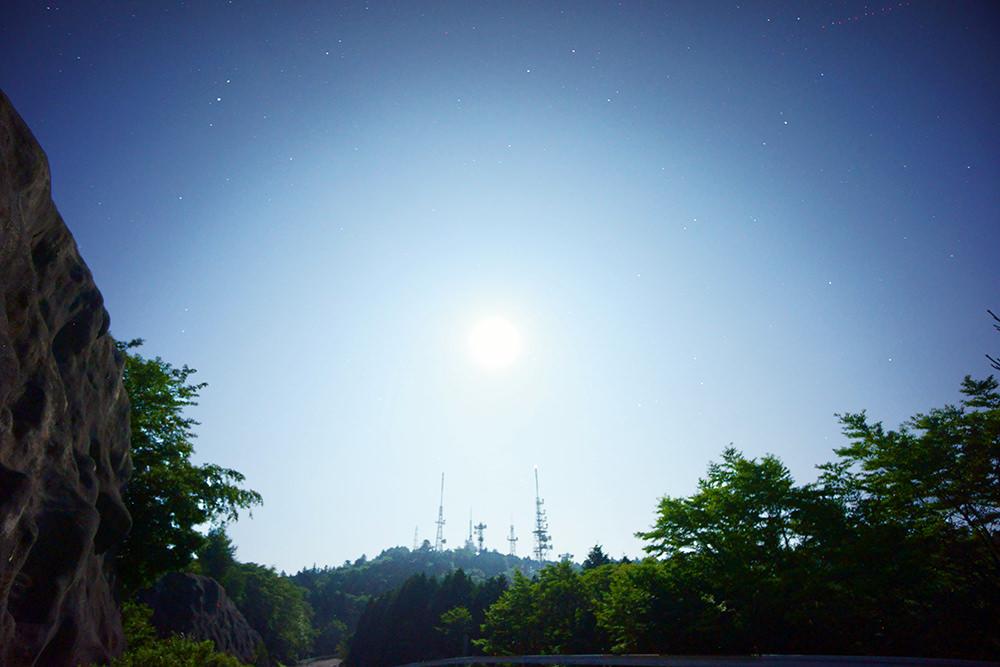 ISO感度1600の星景写真