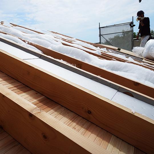 屋根の断熱材と遮熱