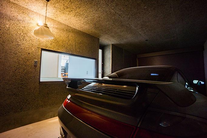 ガレージハウスの写真